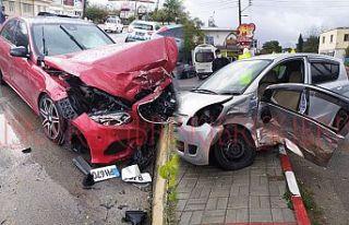 23 yaşındaki sürücü  yoğun bakıma alındı