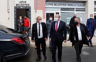 Cumhurbaşkanı Ersin Tatar Lefke Belediyesi'ni...