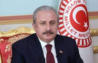 TBMM Başkanı Şentop, KKTC'nin Kurucu Cumhurbaşkanı...