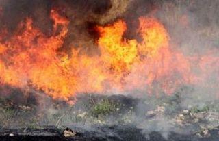Temizlik yapmak istedi, yangına sebep oldu