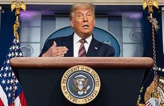 Trump, Çalışma ve Göçmen vizelilerin girişinin...