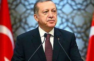 Türkiye Cumhuriyeti Cumhurbaşkanı Erdoğan'dan...