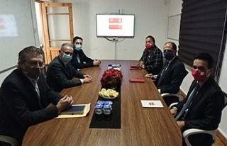 DİSİ Halkın Partisi'ni ziyaret etti