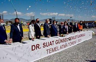 Dr. Suat Günsel Devlet İlkokulu'nun temeli atıldı