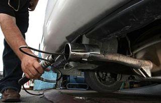 Egzoz emisyon ölçüm ücreti azami 50 TL olarak...