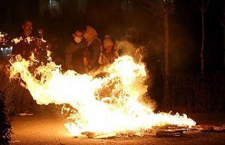 İran'da 'Çarşamba Suri' kutlamalarında...