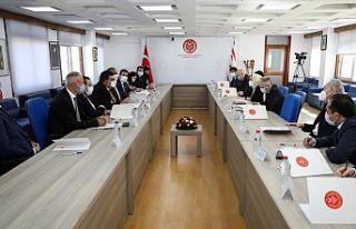 KKTC Milletvekilleri ile TBMM Dışişleri Komisyonu...