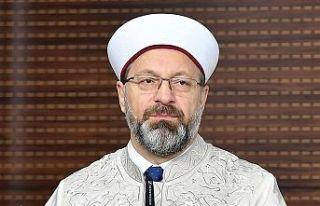 Türkiye Diyanet İşleri Başkanı Erbaş koronavirüse...