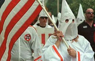 ABD'deki ırkçı Ku Klux Klan örgütünün...