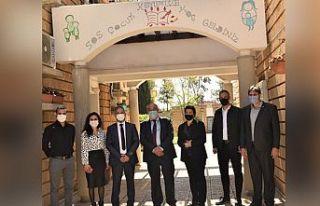 Çalışma Bakanı Çağman SOS Çocukköyü'nde...