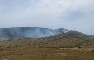 Gürpınar-İkidere Mevkiindeki yangın kontrol altına...