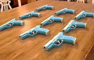 İspanyol polisi, üç boyutlu yazıcıyla silah üreten...