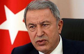 TC Milli Savunma Bakanı Akar, ABD Savunma Bakanı...