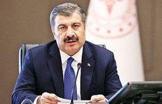 TC Sağlık Bakanı Koca illere göre haftalık Kovid-19...