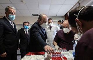 T.C Sanayi ve Teknoloji Bakanı Varank: Yerli aşıda...