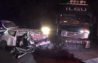 22 yaşındaki genç trafik kazasında hayatını...
