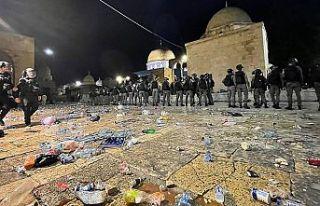 Arap ülkelerinden İsrail'in Doğu Kudüs'teki...