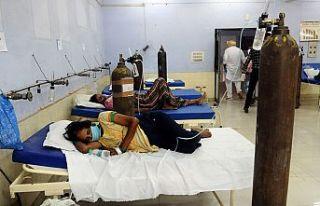 Artan Kovid-19 vakaları nedeniyle tıbbi oksijen...
