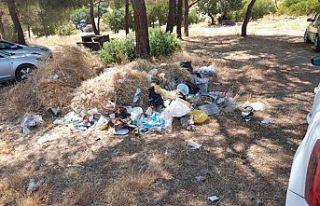 Çevre Koruma Dairesi'nin temizlik etkinlikleri...