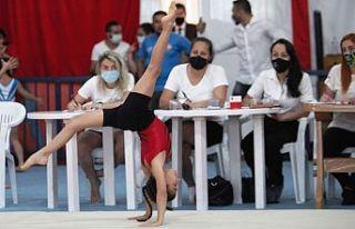 Cimnastikçiler Çavuşgil anısına yarıştılar