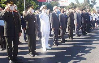 Gazimağusa Zafer Anıtı'nda tören düzenlendi