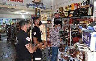 Girne'de gıda hijyeni ve Covıd-19 denetimleri...