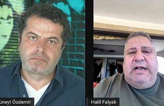 HalilFalyalı, Sedat Peker'in iddialarıyla ilgili...