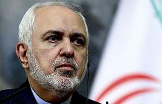 İran Dışişleri Bakanı Zarif devlet binalarına...