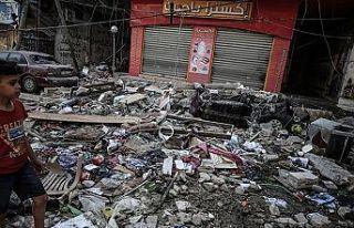 İsrail'in Gazze Şeridi'ne düzenlediği...