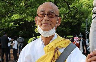 Japonya'daki Budist rahipten İsrail'in...