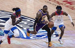 Lakers play-in oynayacak
