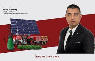 Near East Bank tarım işletmelerinin ekipman ihtiyaçları...