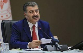 Türkiye Cumhuriyeti Sağlık Bakanı Koca açıkladı:...