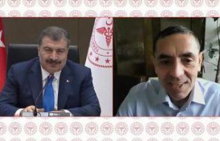 Türkiye Cumhuriyeti Sağlık Bakanı Koca ve Uğur...