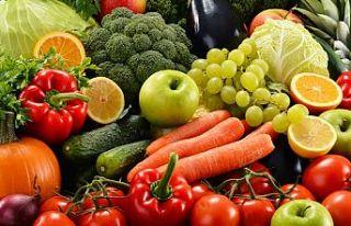 5 Meyve ve Sebze numunesinde limit üstü bitki koruma...