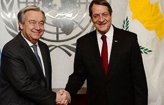 Anastasiadis: Guterres'e yeni diyalog için hazır...
