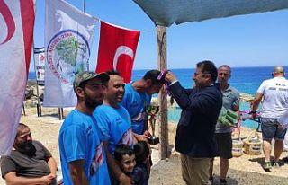 Başbakan Saner, Karaoğlanoğlu'nda balık avlama...