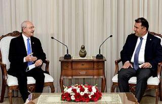 Başbakan Saner, Kılıçdaroğlu'nu kabul etti