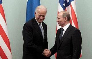 Bıden ile Putin ilk kez bir araya geliyor