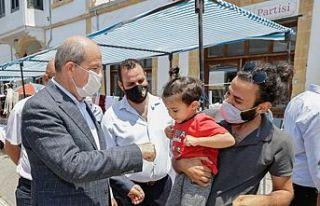 Cumhurbaşkanı Ersin Tatar, 11. Ceviz Festivali'ni...