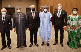 Cumhurbaşkanı Tatar Antalya'da Nijerya Dışişleri...