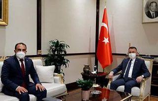 Cumhurbaşkanı Yardımcısı Oktay AK Parti KKTC...