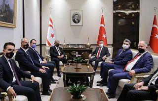 Cumhuriyet Meclisi Başkanı Sennaroğlu,TC Cumhurbaşkanı...