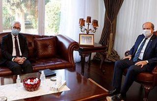 Ersin Tatar, Almanya Büyükelçisi onuruna veda yemeği...