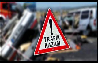 Girne'de bir araç yolu geçmeye çalışan aynı...