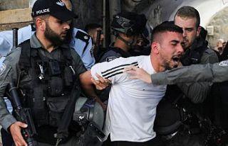 İsrail Güçleri Mayıs ayında 3 bin 100 Filistinliyi...