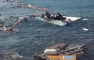 Yemen açıklarında göçmen teknesi alabora oldu:...