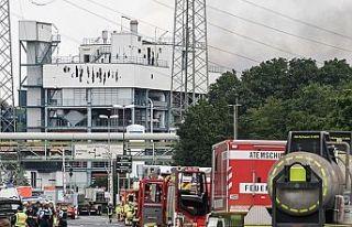 Almanya'daki kimya tesisinde meydana gelen patlamada...