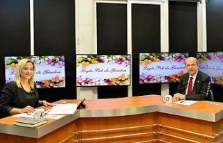 Cumhurbaşkanı Tatar Mersin'de radyo ve televizyon...