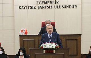 Erdoğan KKTC Cumhuriyet Meclisi'nde